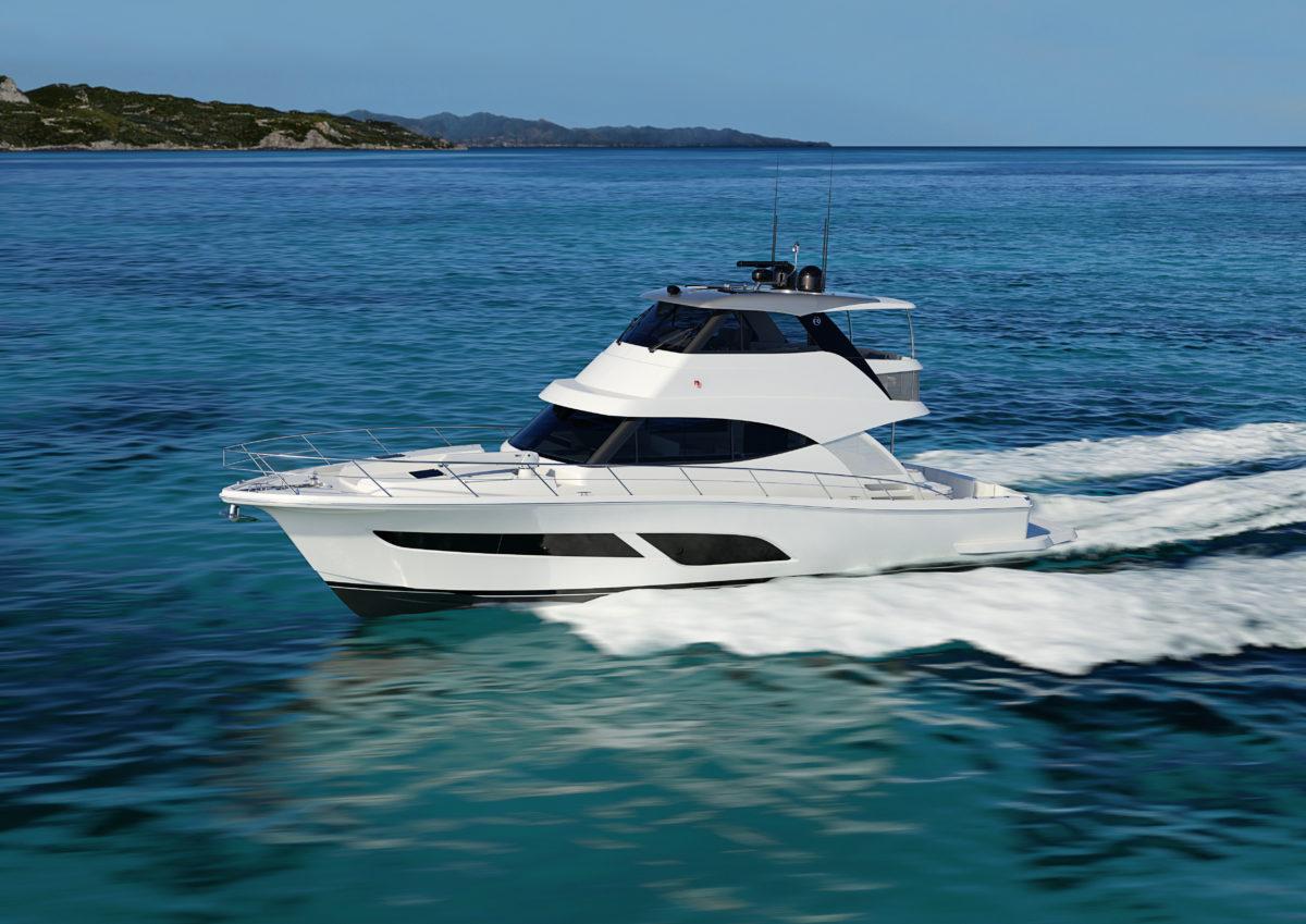 リビエラの最新モデル、50 Sports Motor Yachtの紹介